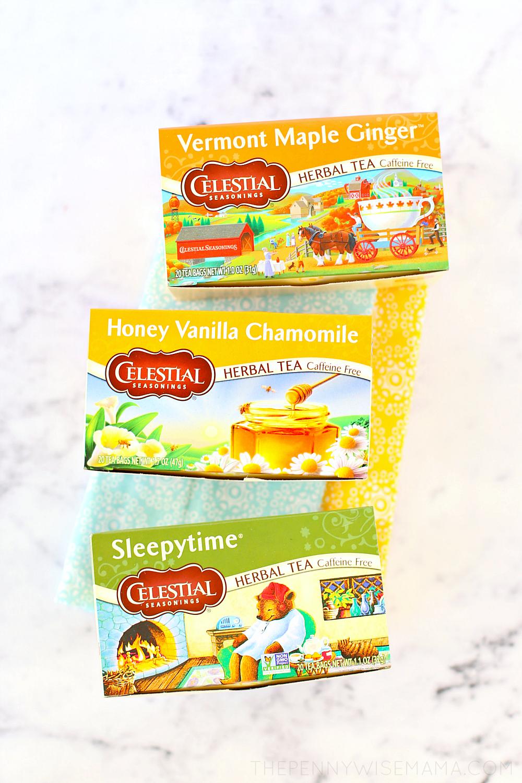 Celestial Seasonings Herbal Tea - Flavors of Fall