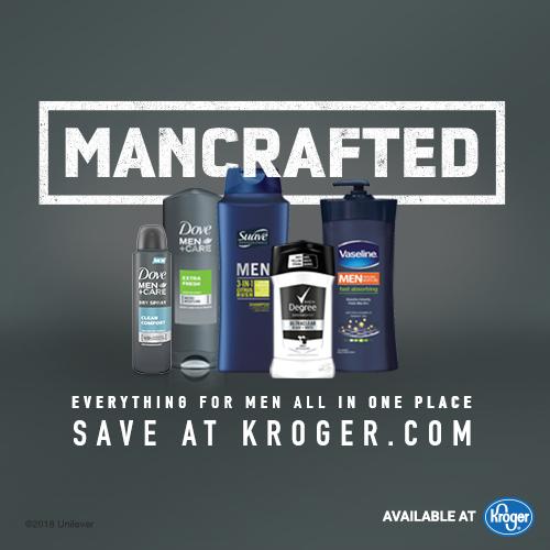 Save Big on Men's Grooming Products at Kroger Mega Event