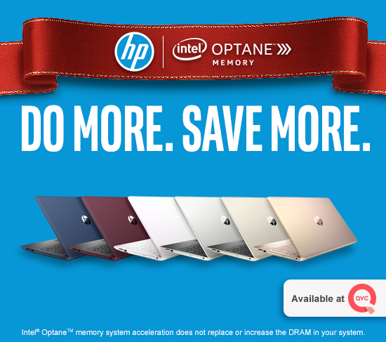 HP Intel OptaneTM Memory Laptop on QVC