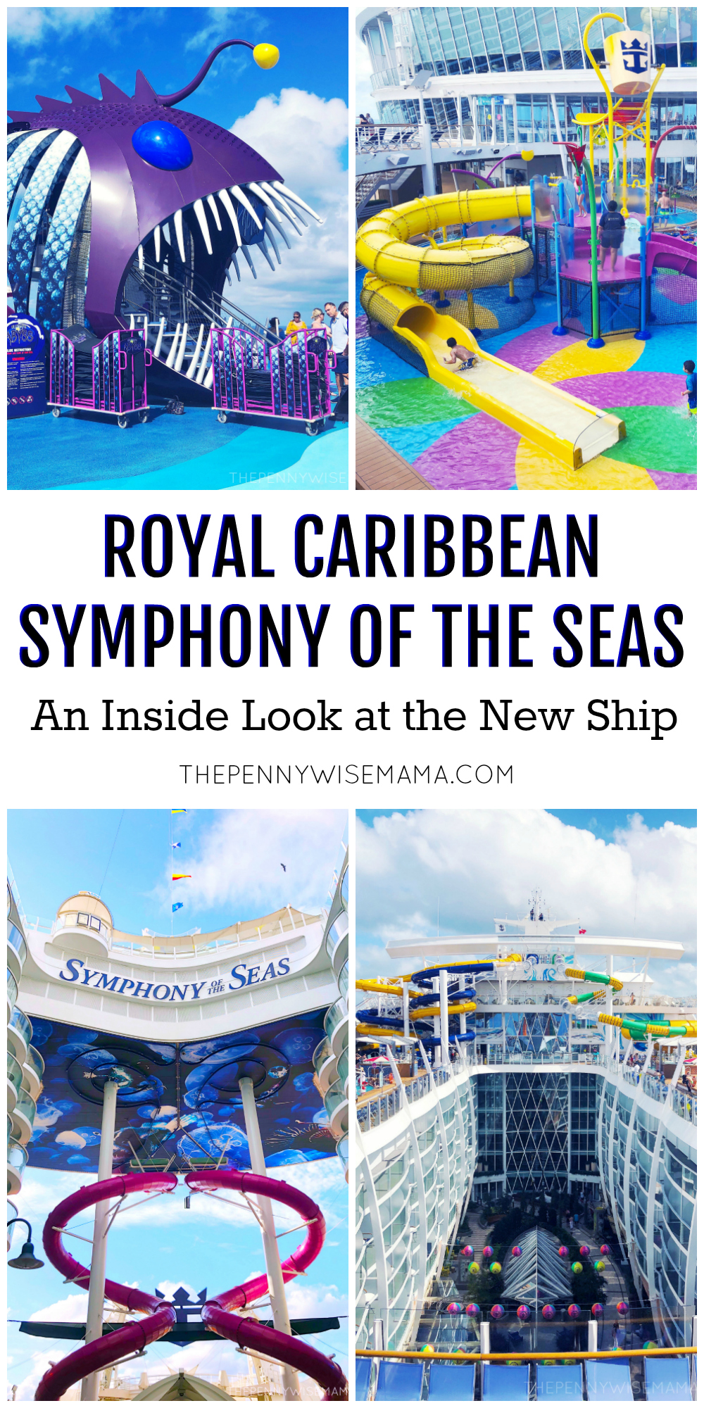 Take an inside look at Royal Caribbean's newest ship, Symphony of the Seas! Read our thoughts & view photos of the food, activities, entertainment, cabins, and more.