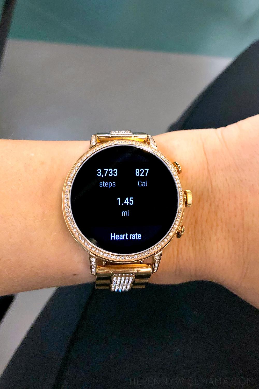 Fossil Gen 4 Venture HR 40mm Rose Gold Smartwatch