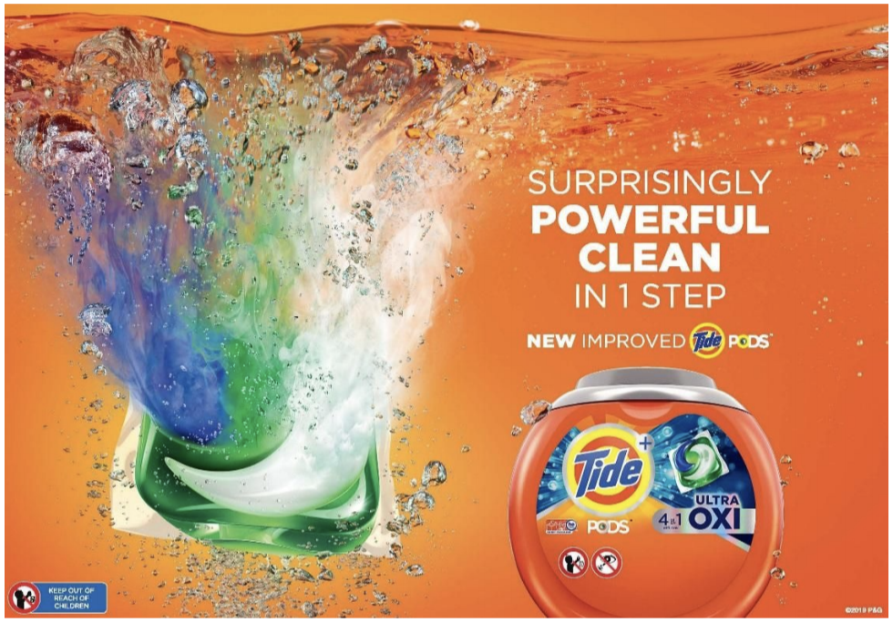 New Tide PODS 2.0 have been upgraded with better stain and odor removal power.