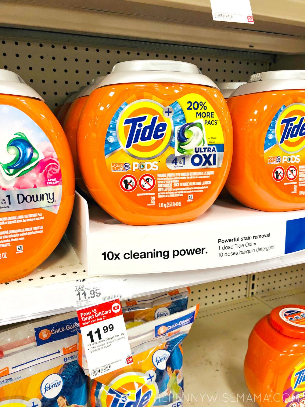 $3 off Tide Detergent Coupon