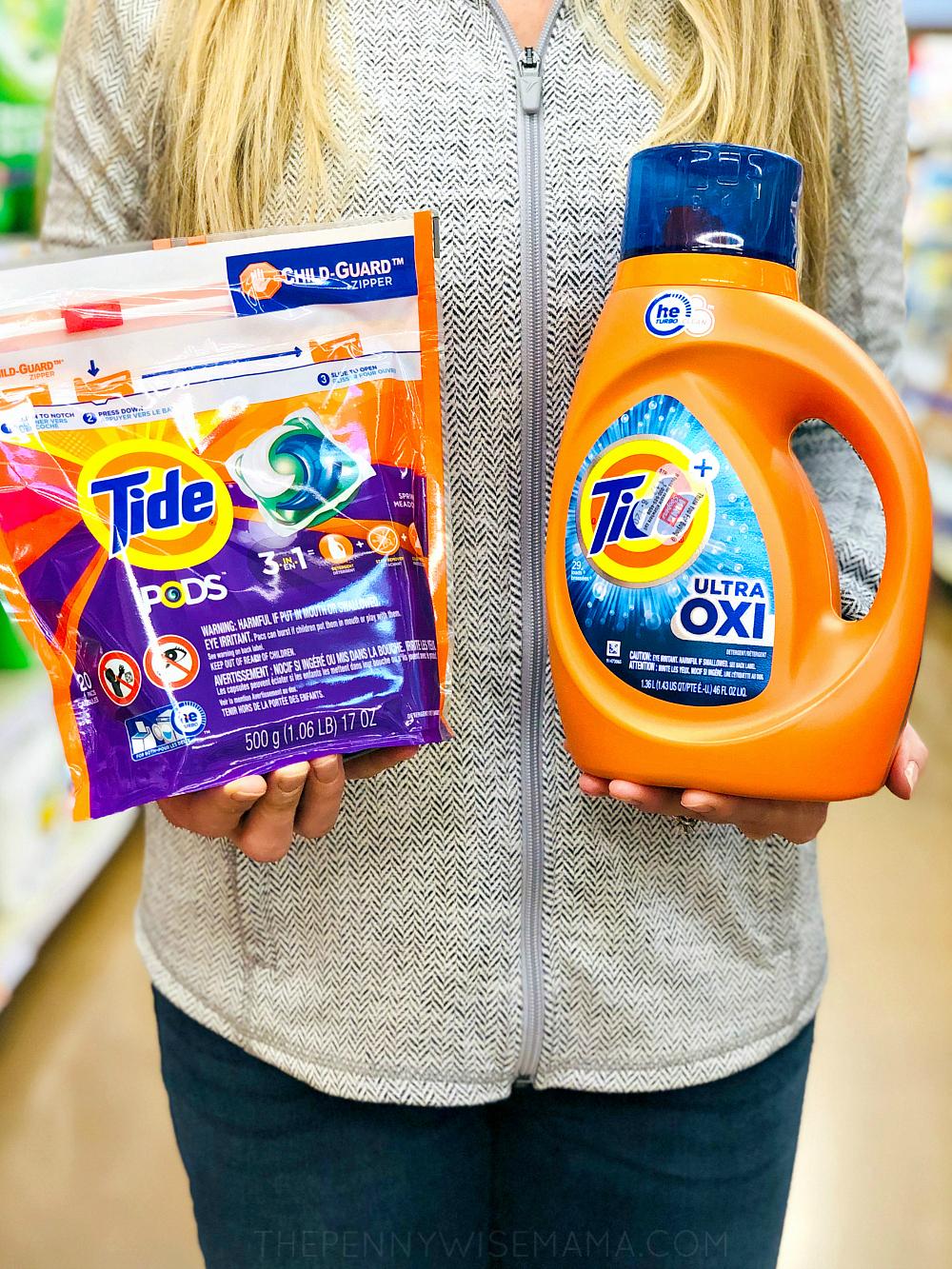 Save big on Tide PODS & Tide Liquid Detergent {Printable Coupons}