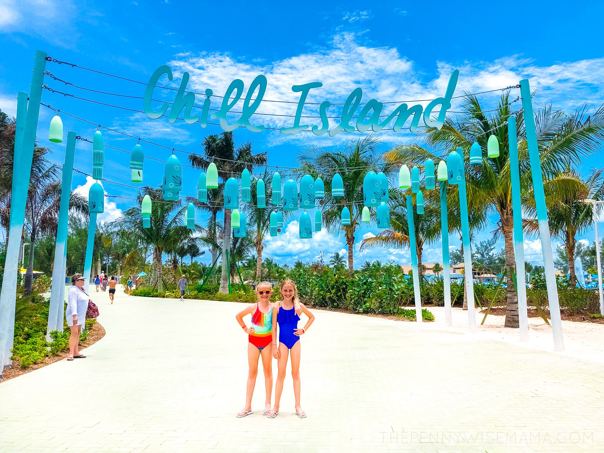 Entrance to Chill Island at Perfect Day at CocoCay