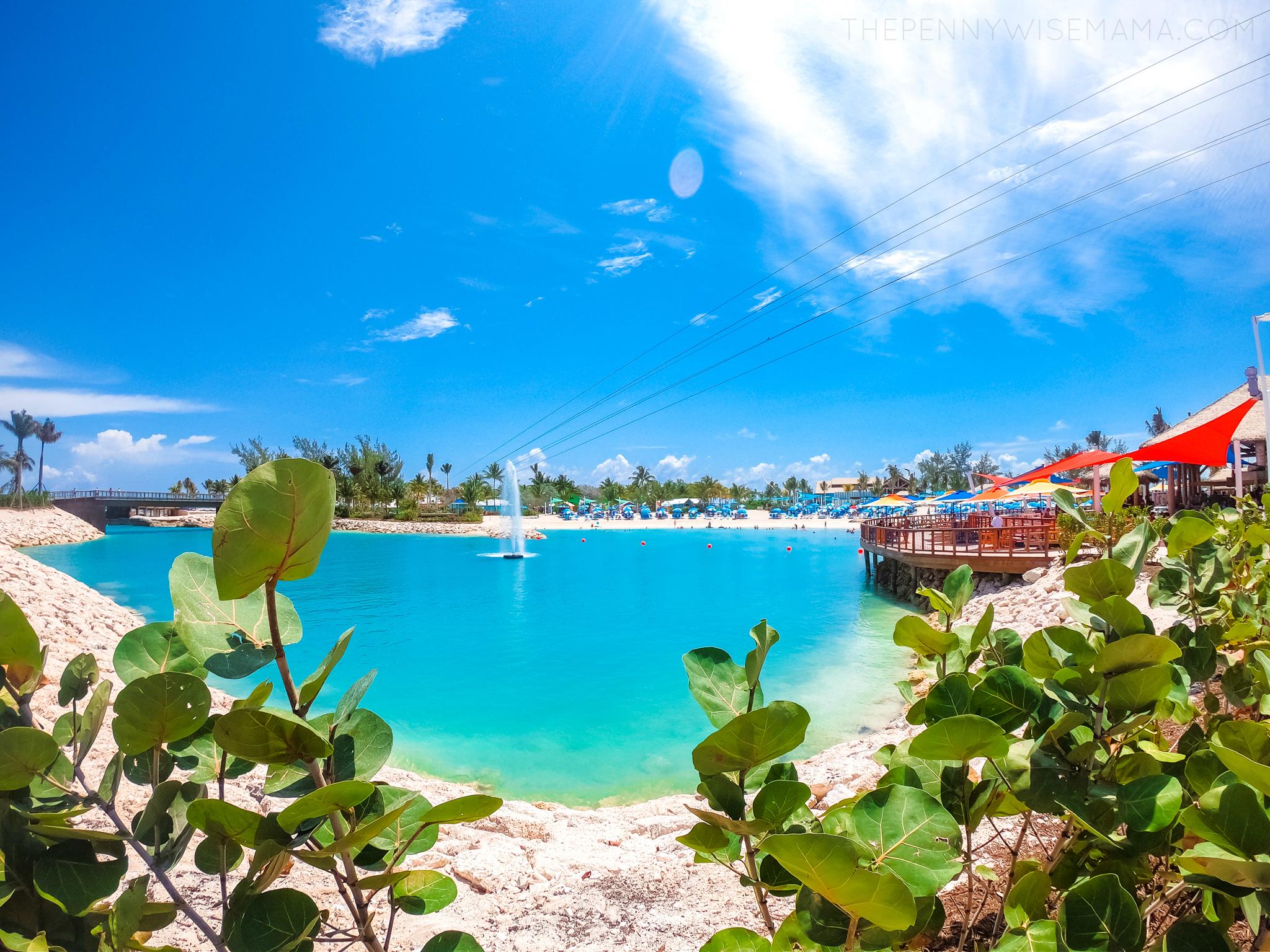 Oasis Lagoon at Perfect Day at CocoCay