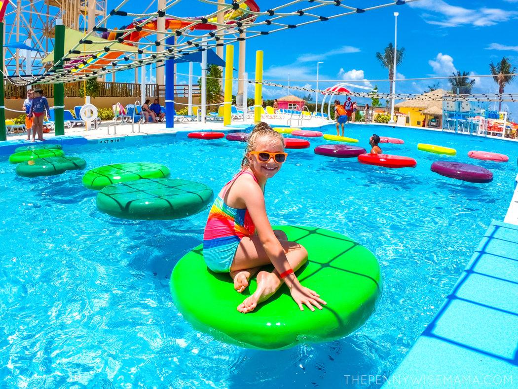 Having Fun at Oasis Lagoon at Perfect Day at CocoCay
