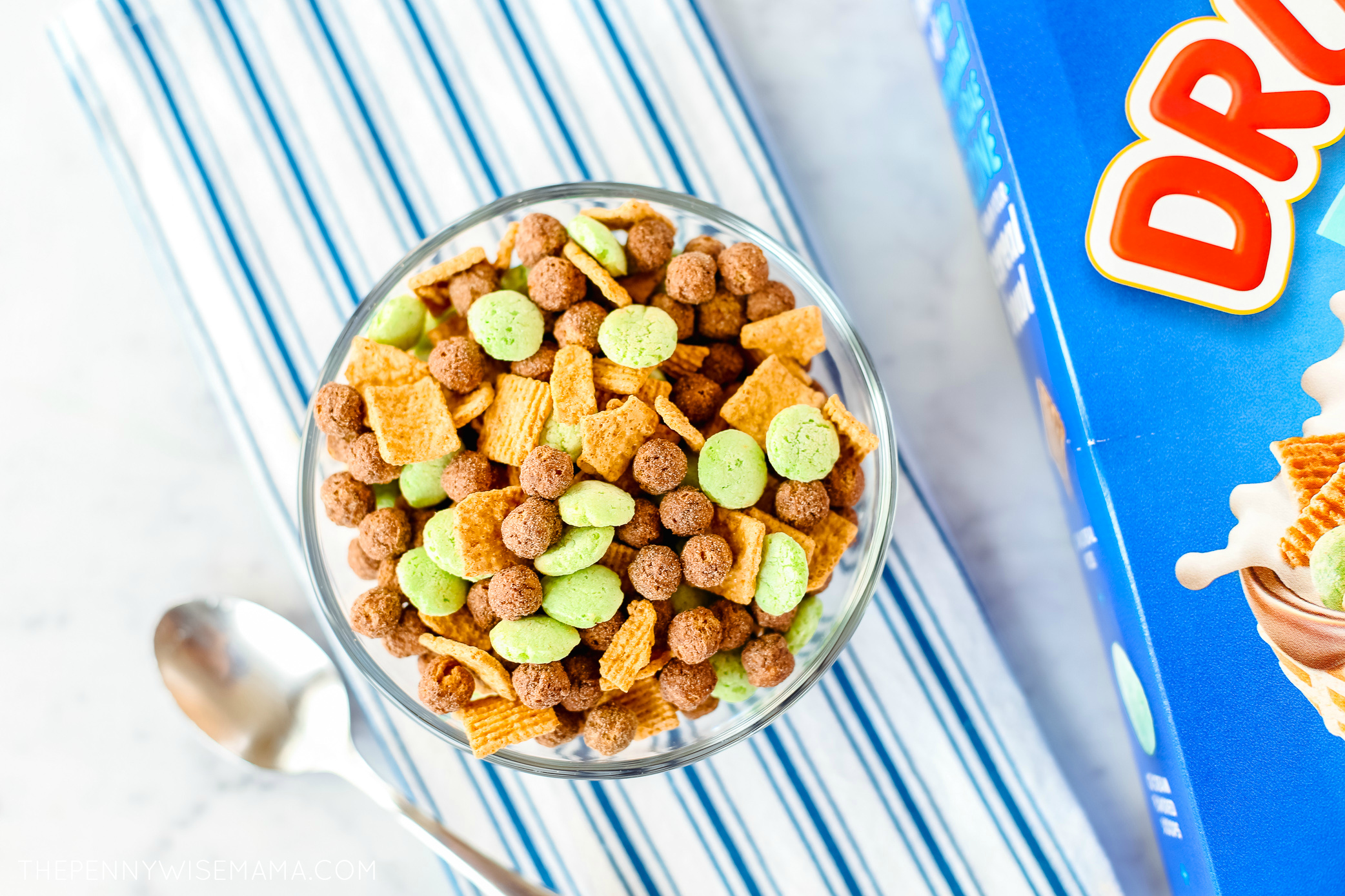 New Drumstick Cereal Mint Chocolate