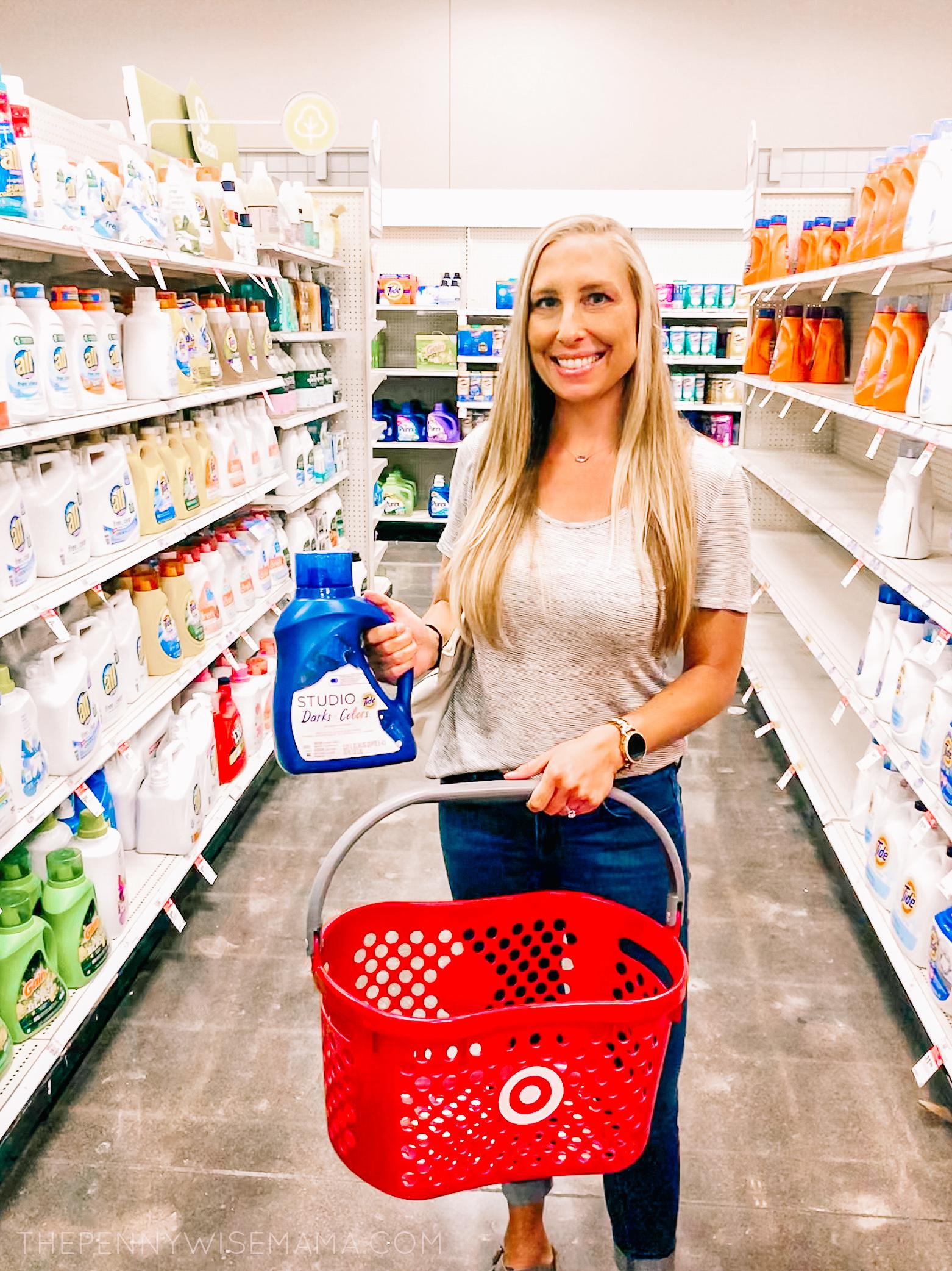 NEW Tide Studio Darks & Colors Laundry Detergent at Target