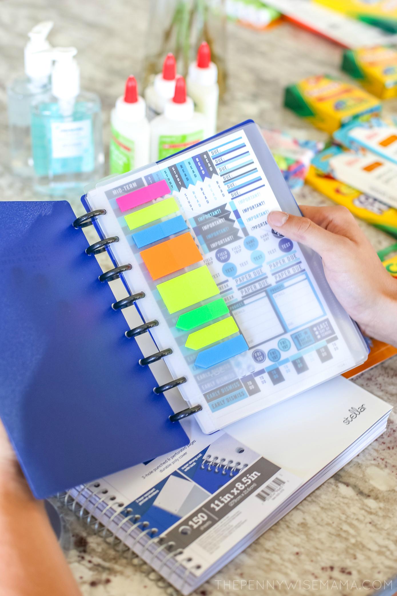 TUL® School Edition disc-bound planner