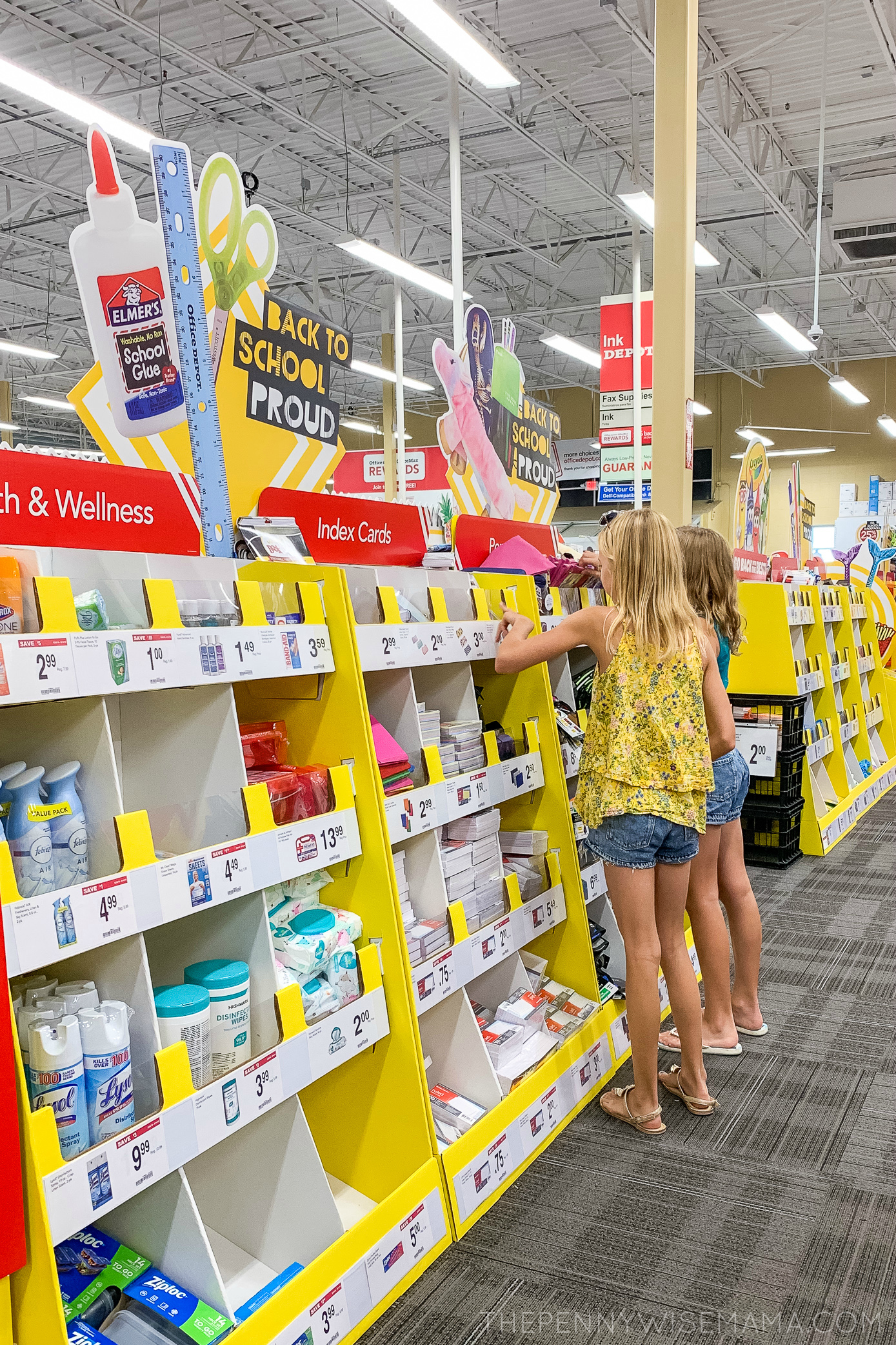 School Supply Shopping Made Easy with Office Depot