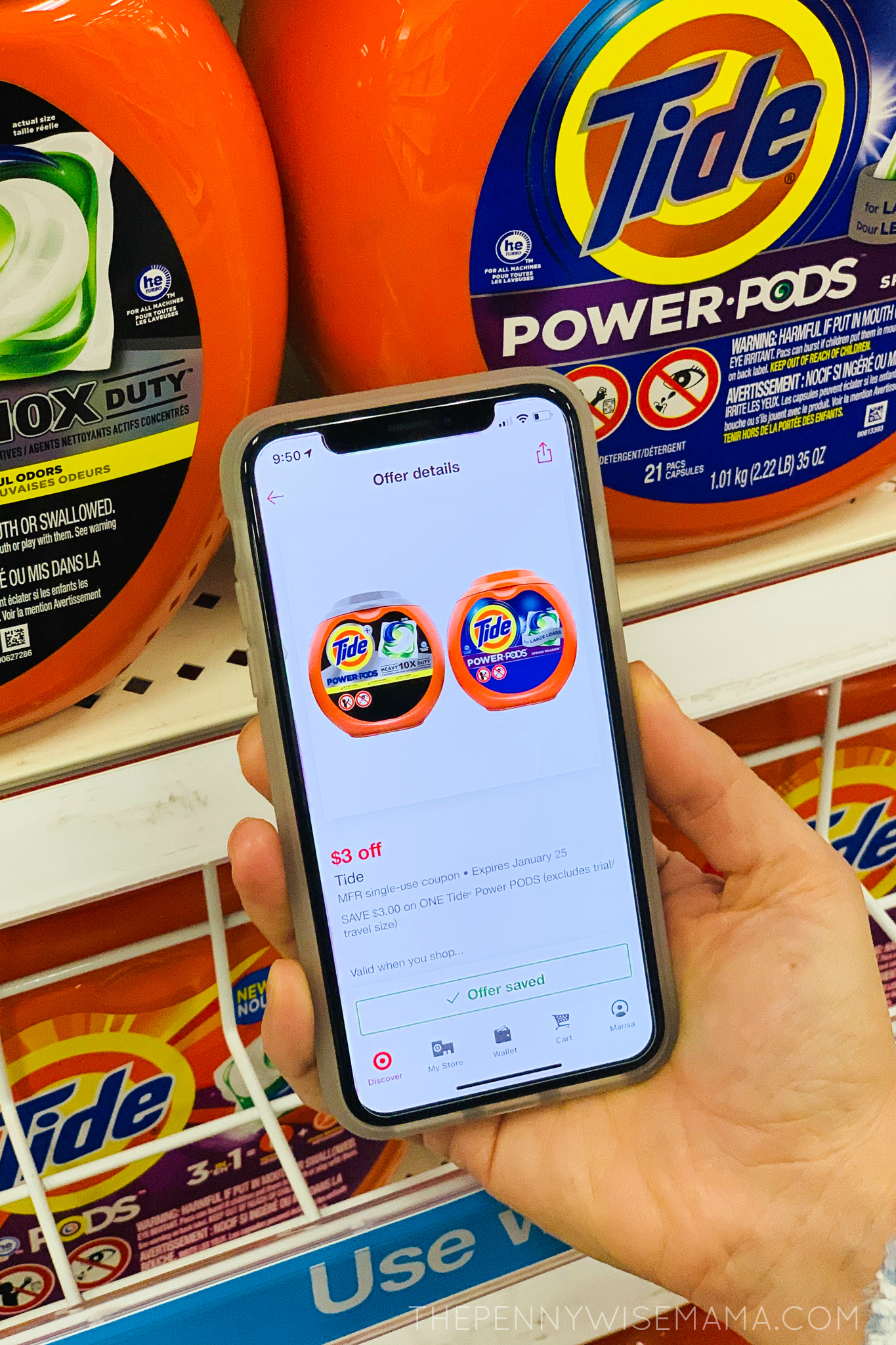 Save $3 on New Tide Power PODS at Target