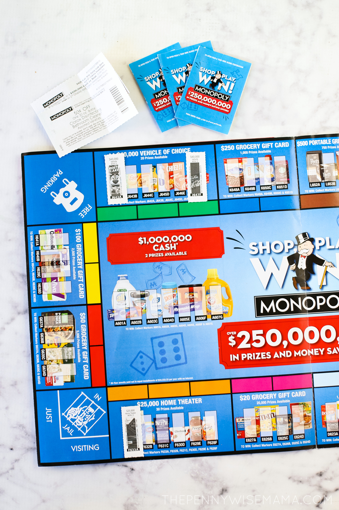 Shop Play Win Monopoly Game Board