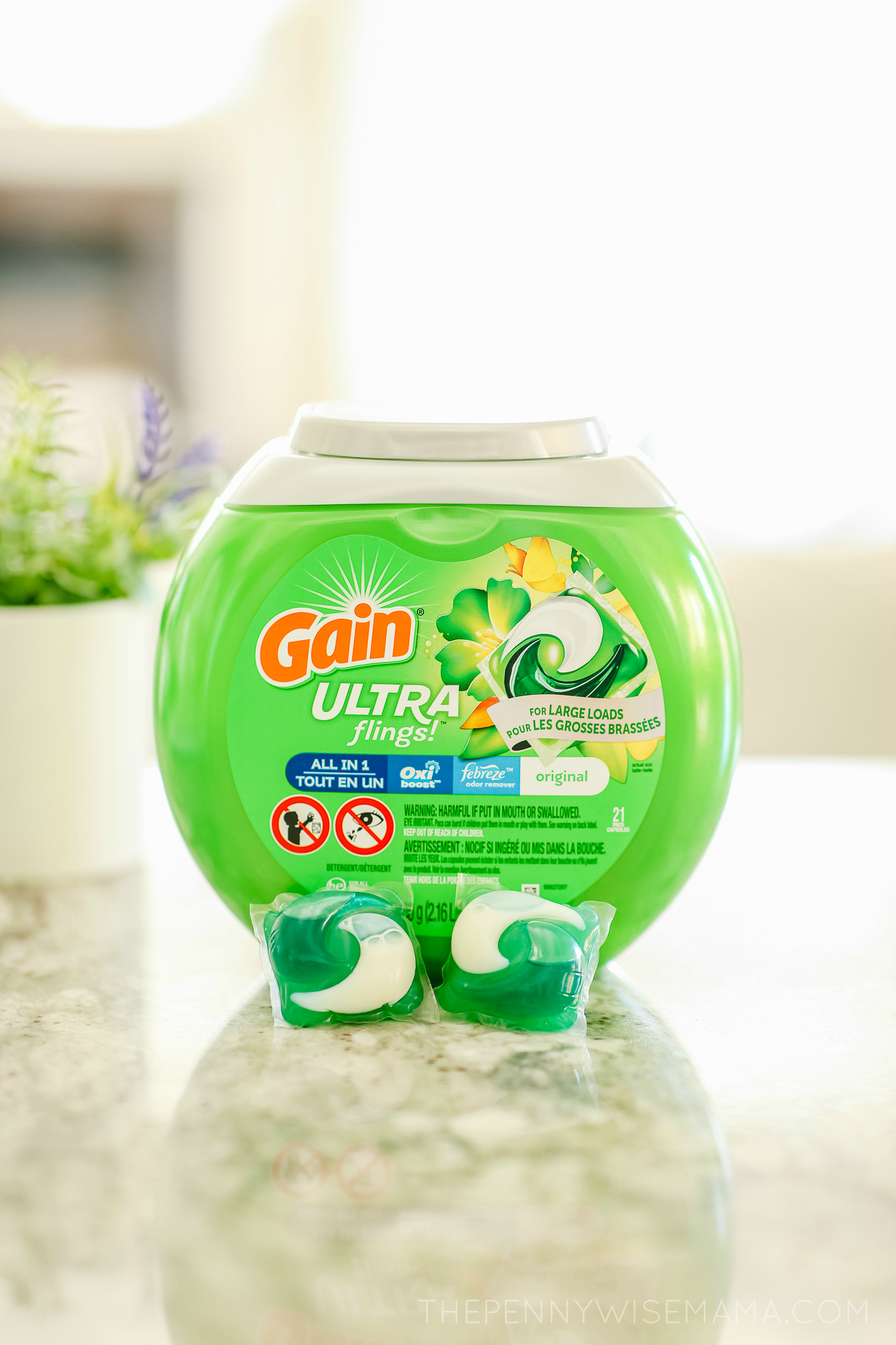 Save $2 on New Gain Ultra Flings