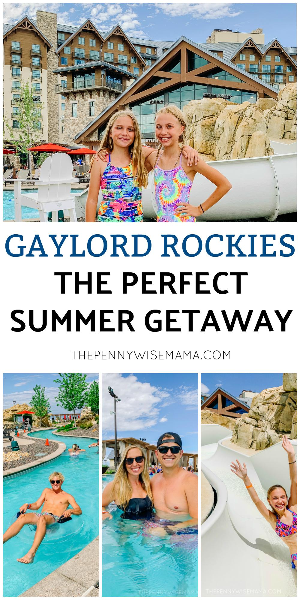 Plan a fun family getaway to Gaylord Rockies this summer! #GaylordRockies #vacation #staycation #familytravel #travel #luxuryresort